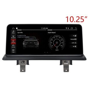 "BMW 1 Series (E81/E82/E87/E88 2004-2013 10.25"" Touch 