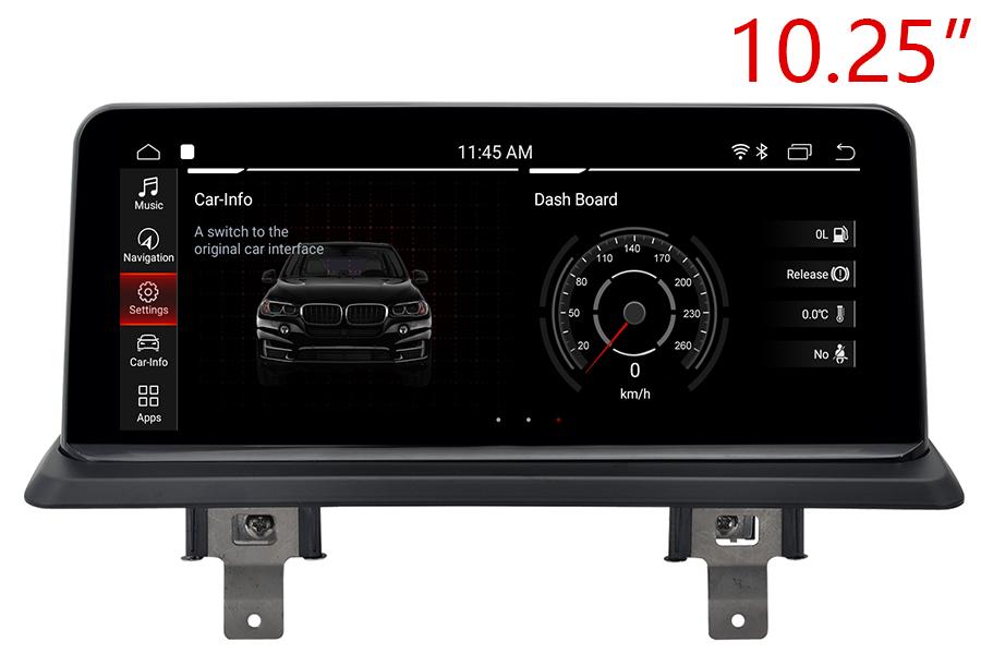 "BMW 1 Series (E81/E82/E87/E88 2004-2013 10.25"" Touch | Android 9,0|Bluetooth |WiFi |Navigation multimedia"
