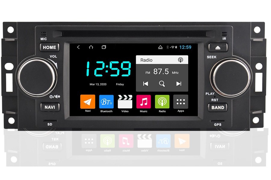 Chrysler Dodge Jeep 300c Android bilstereo