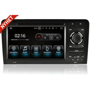 AUDI A3 Audi S3 och RS3 Android bilstereo multimedia Navigation bluetooth 2003 till 2012