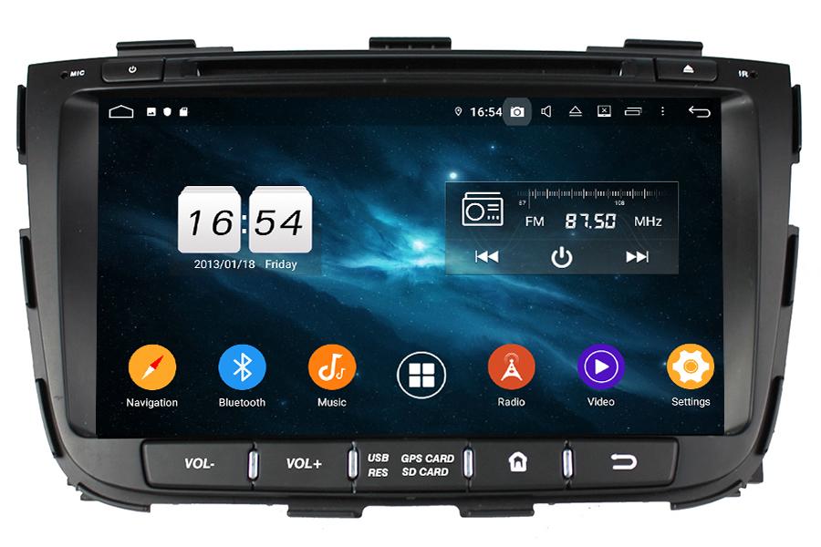 Kia Sorento 2013-2014 android bil Stereo