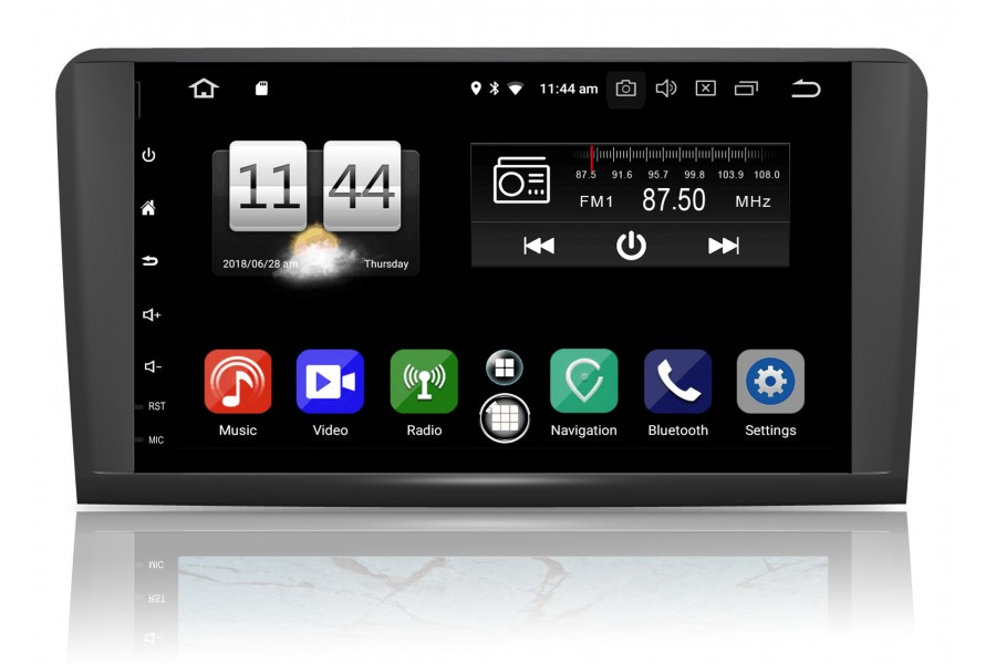 Mercedes Benz ML W164 GL X164 Android multimedia Bilstereo navigation