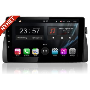BMW E46 3 series Android multimedia bilstereo