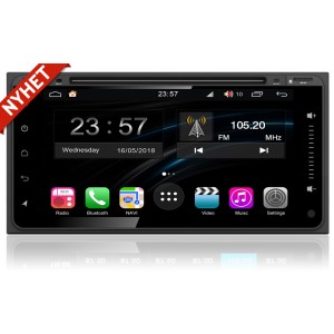 Toyota universal Android multimedia bilstereo Navigation