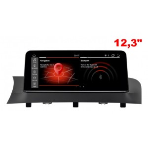 """BMW X3,X4 F25 / F26  2011 - 2013 12,3"""" Android 10,0 bilstereo"""