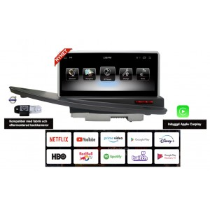 Volvo S80 2004-2011 Android Bilstereo