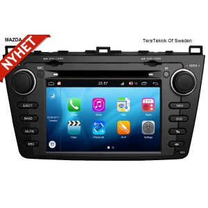 Mazda 6 Android bilstereo navigation multimedia Bluetooth 2008-2012